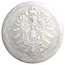 German Empire 20 Pfennig 1874 B Hannover KM#5 Kaiser Wilhem I (4446)