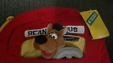 WB Scooby Doo Backpack + Plush Warner Brothers Bros. school Books Bus Driver Kid
