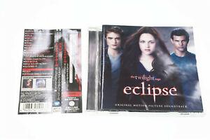 the twilight saga eclipse sound track WPCR-13950 JAPAN OBI CD A10200