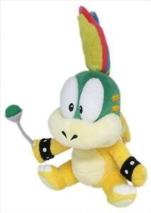 "New Super Mario Bros USA 8"" Lemmy Koopa Stuffed Plush Doll Toy"