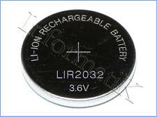 LIR2032 Pila Batteria Ricaricabile replace BR CR DL ECR KCR ML LM LIR 2032 3.6V