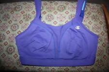 Gently Used 34D Champion Double Dry Comfort Full Comfort UW 1602 Violet Bra