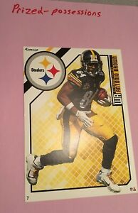 """2018 Antonio Brown Fathead Tradeable 5"""" x 7"""" with Pittsburgh Steelers Decal"""