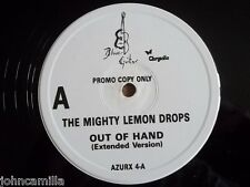 "THE MIGHTY LEMON DROPS - OUT OF HAND 12"" RECORD - BLUE GUITAR RECORDS - AZURX 4"
