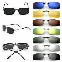 Fashion Sunglasses UV400 Polarized Clip On Driving Glasses Day Night Vision Lens