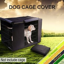 "Pet Dog Crate Cage COVER Matt CUSHION Tent Windproof Waterproof 36'' 42"" 48''"
