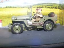 "Jeep in Diorama Setting ""La Route des Alpes"" 1:43 Altaya product."