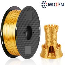 Impresora 3D PLA Filamento 1.75mm oro para máquina de impresión y plumas 3D 1kg Carrete