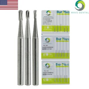 USA Wave Dental Carbide Burs Fit High Speed Handpiece 1.6mm FG 330 331 332 Prima