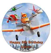 """DISNEY's Planes personalizzati CAKE TOPPER 7,5 """"wafer commestibile carta festa di compleanno"""