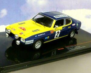 IXO 1/43 FORD CAPRI MK1 #2 WINNER SACHS RALLYE/RALLY BALTIC 1972 W.ROHRL RAC308