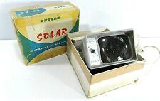 """VINTAGE 1960s PHOTAX """"SOLAR"""" SLIDE COLOUR PROJECTOR VIEWER BOX  H92"""