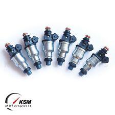 6 x 650cc Fuel Injectors for Toyota 7MGE 7MGTE 1JZ 1JZGTE 2JZ 2JZGE 2JZGTE E85