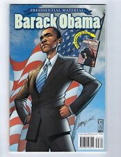 PRESIDENTIAL MATERIAL: BARACK OBAMA NM J SCOTT CAMPBELL COVER! IDW