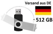 512 GB USB STICK FESTPLATTE SPEICHERMEDIUM
