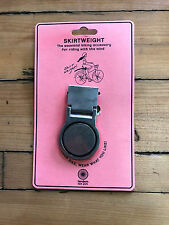 Nos New Tandem Ny Womens Skirtweight Clip-On Skirt Holder for Cycling Bicycles