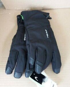 Unisex HEAD Sensatec Thermal Ski Gloves - Black