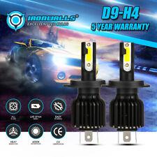 IRONWALLS H4 LED Headlight Bulbs HB2 9003 2200W 330000lm 6000K COB High-Low Beam
