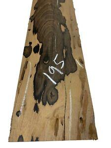 "Ziricote Guitar Bass Fingerboard Blanks/Fretboards/Lumber 33""x5-1/2""x1/2"", #195"