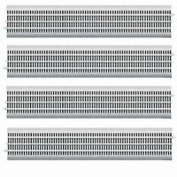 LIONEL 12042 FASTRACK O GAUGE 30 INCH STRAIGHT TRACK 4 PIECES