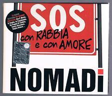 I NOMADI SOS CON RABBIA E CON AMORE CD DIGIPACK  F.C.