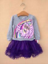 NEW Licensed My Little Pony FIM Twilight Sparkle Girl Long Sleeve Tutu Dress 18M
