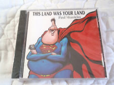 PAUL SHANKLIN THIS LAND WAS YOUR LAND CD NEW POLITICAL COMEDY PARODY CLINTON '97