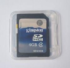 4GB Kingston SDHC Class 4 Secure Digital SD Memory Card C4 SDC4/4G f.Canon Nikon