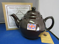 GENUINE BROWN BETTY, Red Clay, Rockingham Glaze,  4 Cup Tea Pot, MADE IN ENGLAND