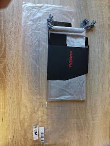 Neu! Carrera Brillenbeutel Grau mit Faltbox
