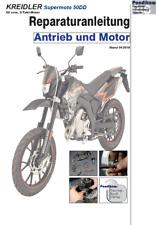 Reparaturanleitung RIS für Kreidler Supermoto 50DD, Antrieb und Motor
