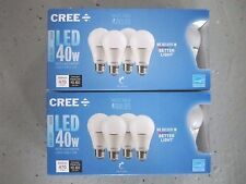 CREE 8-Pack LED A19 Light Bulbs 5W=40W Dimmable Daylight 5000K FREE SHIP!