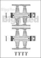 Bremssattel Hinten Belag Montagesatz für Merzedes Sprinter 616CDi (H1687)