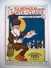 "1918 Paper Dolls""The Sandman Visits Santa Claus"" w/Tinkletoes & Blubber Eskimo*"