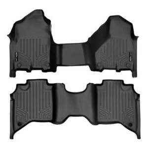 Maxliner 2019-2021 Fits Dodge Ram 2500 3500 Crew Cab Custom Floor Mats Set Black