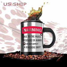 HOT & Cold  Double Insulated Self Stirring Funny Joke Mug Electric Coffee Cup WS