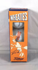 Titleist Wheaties Tiger Woods 3 ball Sleeve #1 Ball In Golf Made In USA