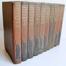 1919 1st ed 10 vols FOUR MINUTE ESSAYS Dr Frank Crane NY common sense & wisdom
