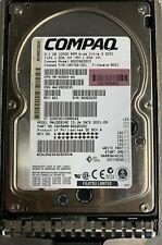 """COMPAQ 3.5"""" HARD DRIVE 9.1 GB 10K RPM 80 PIN SCS BD009635C3 W/ COMPAQ CADDY"""