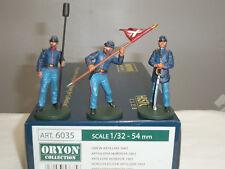 ORYON 6035 UNION INFANTRY ARTILLERY MEN 1863 METAL TOY SOLDIER FIGURE SET