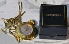RARISSIMO orologio pendente BUCHERER d'epoca eccellenti condiz. + box originale
