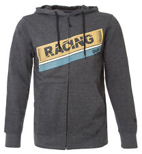 IXS Zip-Hoody, Kapuzenjacke, Racing Grau/ Gr. L