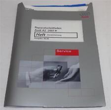 Werkstatthandbuch Reparaturleitfaden Audi A2 Heizung Zusatzheizung ab 2001