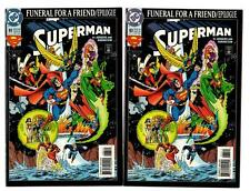 Superman #83 Funeral for a Friend/Epilogue, 5 Copies (1993) DC NM/NM-