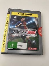 PES 2009 Pro Evolution Soccer Playstation 3 PS3
