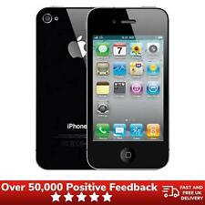 "Apple iPhone 4 Smartphone 8GB EE Locked 3.5"" Black With Warranty"