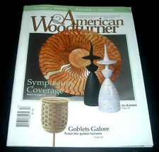 AMERICAN WOODTURNER MAGAZINE ~ FALL 2005 ~TWO-PART GOBLET ~CHRISTMAS TREE TOPPER