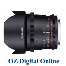 New Samyang 10mm T3.1 ED AS NCS CS VDSLR Lens for Nikon 1 Yr Au Wty