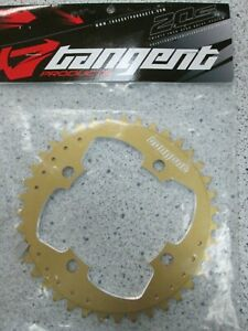 Tangent Products 4-Bolt 104mm 39T Chainring (Gold) BMX/Single Spd Chainring
