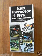 1976 KIES UW MOTOR MOTORCYCLE MODELS DUTCH MARKET,SUZUKI RE5 WANKEL,VOSKHOD 175,